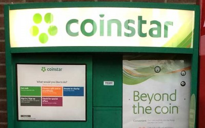Save time by using Coinstar to count your spare change
