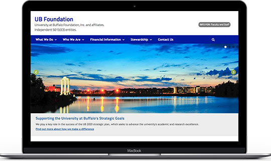 Website: UB-Foundation.org