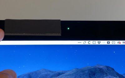 DIY Webcam Cover